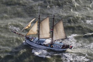 Overtocht van Amsterdam naar Inverness - Flying Dutchman